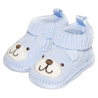 Just One You Made by Carter's Just One YouMade by Carter's Newborn Boys' Crocheted Bear Booties -