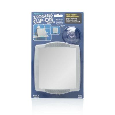 Zadro Fogless Clip-On Shower Mirror in White Z300