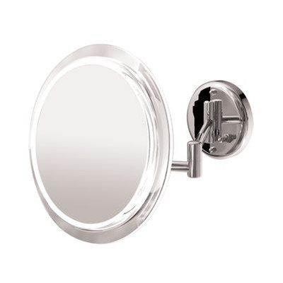 Zadro Products Surround Light Satin Nickel 5X Wall Mirror