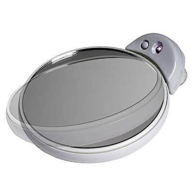 Zadro 10X/5X Lighted Magnification Spot Mirror in Gray FC30L