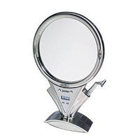 Zadro - Z'Fogless LED Power Zoom Fogless Mirror - Stainless Steel