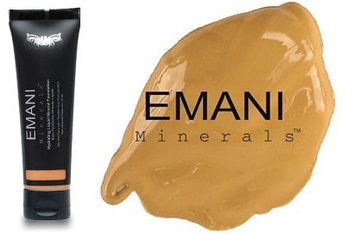 Emani Minerals Liquid Mineral Foundation Golden Amber