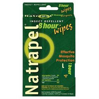 tural High Natrapel 8 Hour Insect Repellent Wipes - 12 Pack