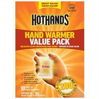 Hot Hands Hothands 2 Value Pack 10 Pair