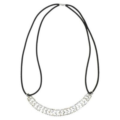 RIVIERA, A STYLEMARK CO Women's Riviera Headwrap with Rhinestones - Silver