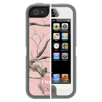 Otterbox Camouflage Cell Phone Case for iPhone 5/5s - Pink (77-