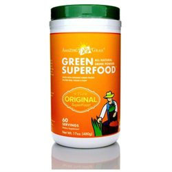 Amazing Grass Green SuperFood Drink Powder Original - 17 oz - Vegan