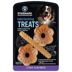 Starmark Everlocking Dog Treat Medium Liver