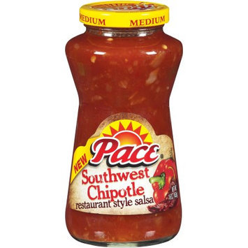 Pace Southwest Chipotle Restaurant Style Medium Salsa, 16 OZ (Pack of 6)