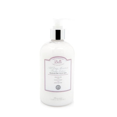 Belli All Day Moisture Body Lotion relieves dry skin with lemon oil,chamomile,and vitamin E 12 fl oz