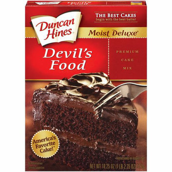 Duncan Hines Moist Deluxe Devil's Food Cake Mix