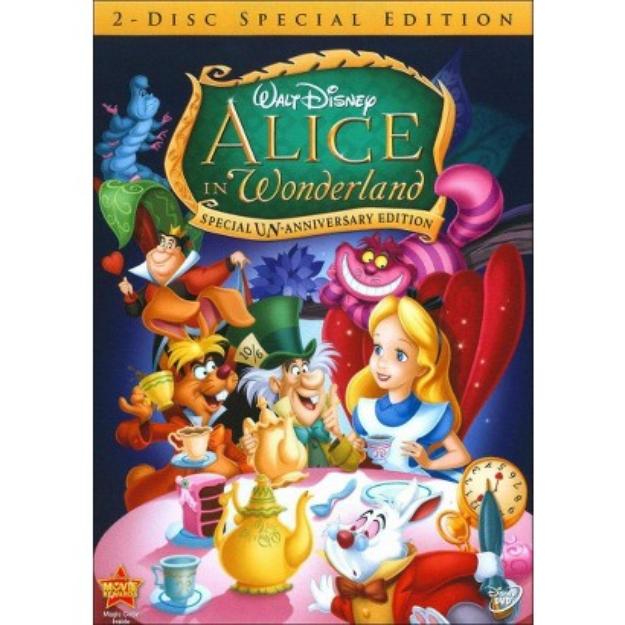 Disney Alice in Wonderland - Special Un-Anniversary Edition DVD