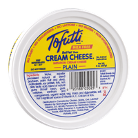 Tofutti Cream Cheese Milk Free Plain