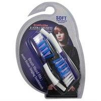 BrushBuddies Justin Bieber Singing Toothbrush Replacement Brush head, 1 ea