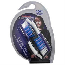 BrushBuddies Justin Bieber Singing Toothbrush Replacement Brush head, 1 ea