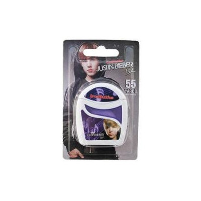 Brush Buddies - Justin Bieber Floss Waxed Mint - 55 Yards CLEARANCE PRICED.