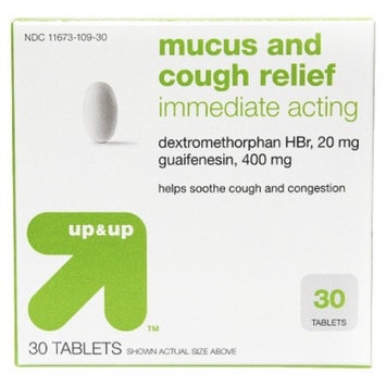 up & up up&up Mucus Relief Cough and Congestion Tablet - 30 Count