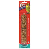Kaytee Products Inc - Fiesta Fruit-veggie Treat Stick- Parakeet 3.5 Ounce
