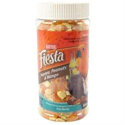Kaytee Products Inc - Fiesta Papayapeanut & mango Treat Jar 8 Ounce
