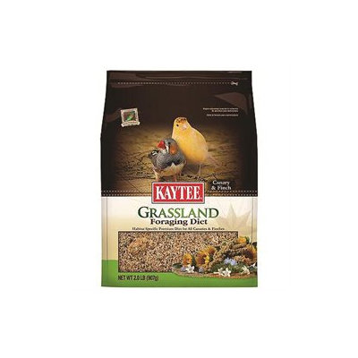 Kaytee Products Inc Grassland Foraging Diet Canary Finch 2 Pound