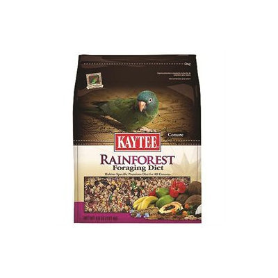 Kaytee Products Inc Rainforest Foraging Diet Conure 4 Pound