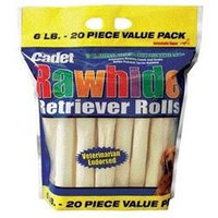 Ims Trading Corporation IMS Trading Rawhide Retriever Dog Roll