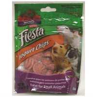 Kaytee Products Inc - Fiesta Yogurt Chips- Strawberry 3.5 Ounce