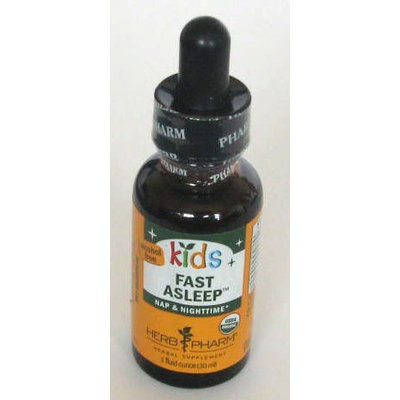 Kids Fast Asleep Herb Pharm 1 oz Liquid
