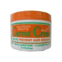 Hollywood Beauty Creme, Carrot, 7.5 Ounce