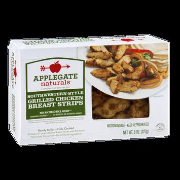 Applegate Naturals Grilled Chicken Breast Strips Southwestern-Style