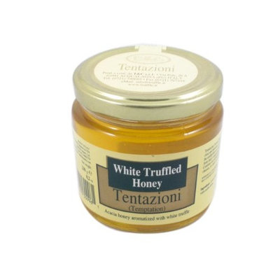 Tentazioni White Truffled Honey, 8.2-Ounce Glass Bottle