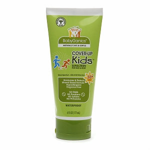 BabyGanics Cover Up Kids Sunscreen for Face & Body SPF 30+
