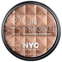New York Color Bronzer Powder Pressed Sun n Bronze Fire Island Tan