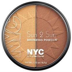 N.Y.C. New York Color Sun 2 Sun Bronzing Powder