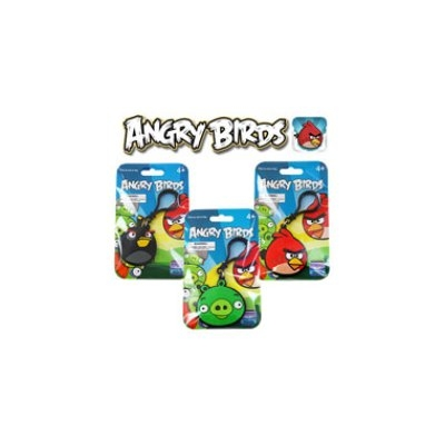Commonwealth Toy Angry Birds Laser Cut Backpack Clips