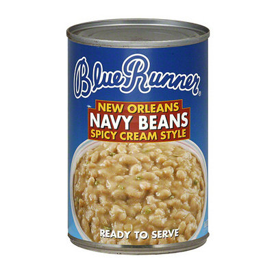Blue Runner New Orleans Spicy Cream Style Navy Beans
