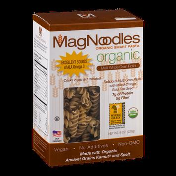 MagNoodle Organic Smart Pasta Multi Whole Grain Rotini