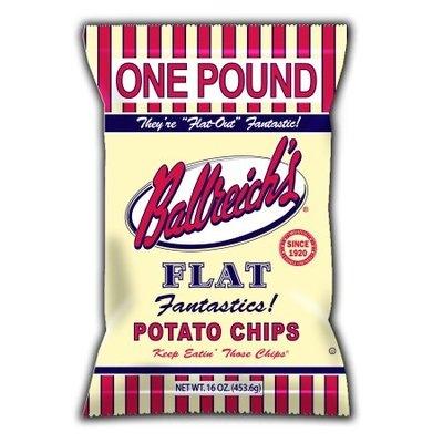 Ballreich Flat Potato Chips 16 Oz