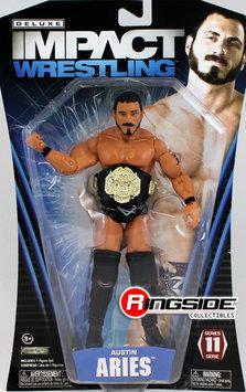 Tna Austin Aries - TNA Deluxe Impact 11 Toy Wrestling Action Figure