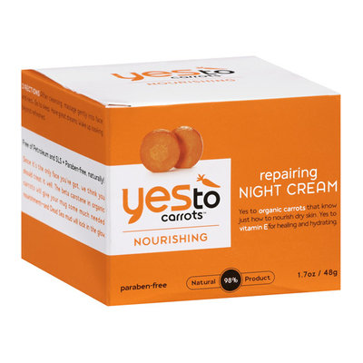 Yes To Carrots Nourishing Repairing Night Cream