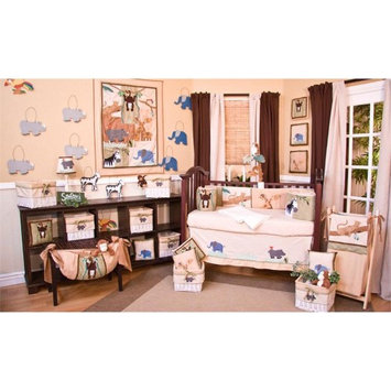 Brandee Danielle On Safari Fitted Crib Sheet
