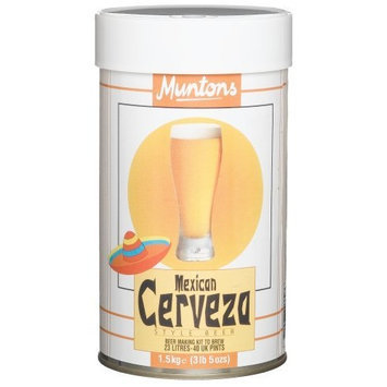 Muntons Mexican Cervesa Beer Making Kit, 53-Ounce Can