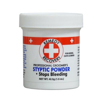 Remedy Recovery Cardinal Laboratories Remedy and Recovery Professional Groomer's Styptic Powder for Pets, 1.5-Ounce