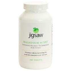 Jigsaw Magnesium W/SRT - Jigsaw Health, LLC - 120 Tablets - magnesium - sustained release