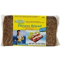 Mestemacher Fitness Bread, 17.6-Ounce Packages (Pack of 12)
