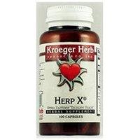 Kroeger Herb Products HPX Formula, 100 Vegetarian Capsules, Kroeger Herb
