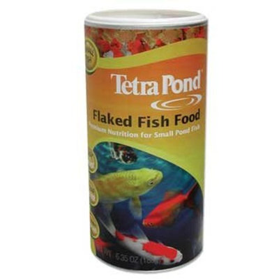Tetra Pond TetraPond 16210 Flaked Fish Food, 6.53-Ounce, 1-Liter