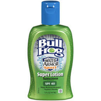 Bull Frog WateArmor Sport Super Lotion Sunblock SPF, 40, 5 oz