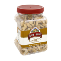 Ann's House Fancy Roasted & Salted Cashews