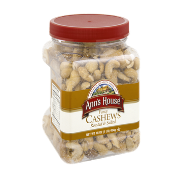 Ann's House Fancy Roasted & Salted Cashews